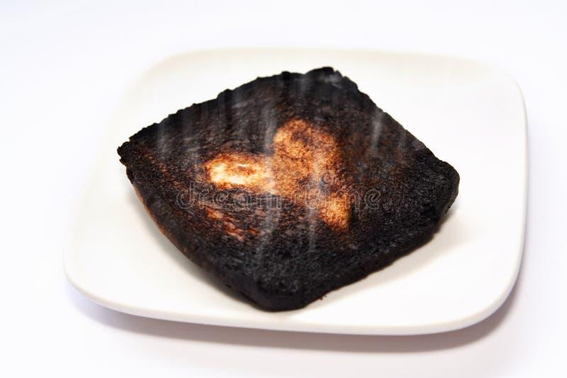 Bruciato prima fotografia stock libera da diritti