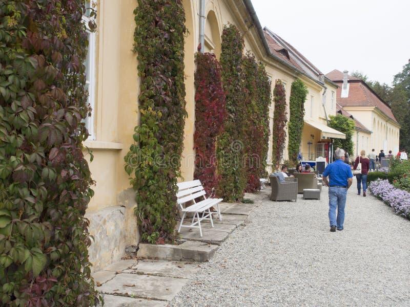 Bruckenthal-Palast, Avrig, Rumänien lizenzfreies stockbild
