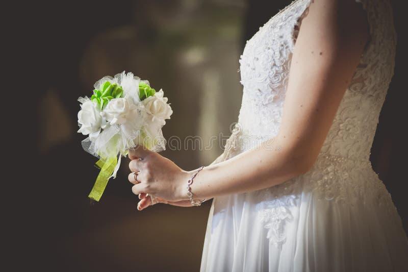 brud- blommor för bukett royaltyfria bilder