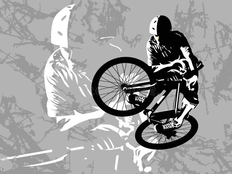 brud jumping ilustracji