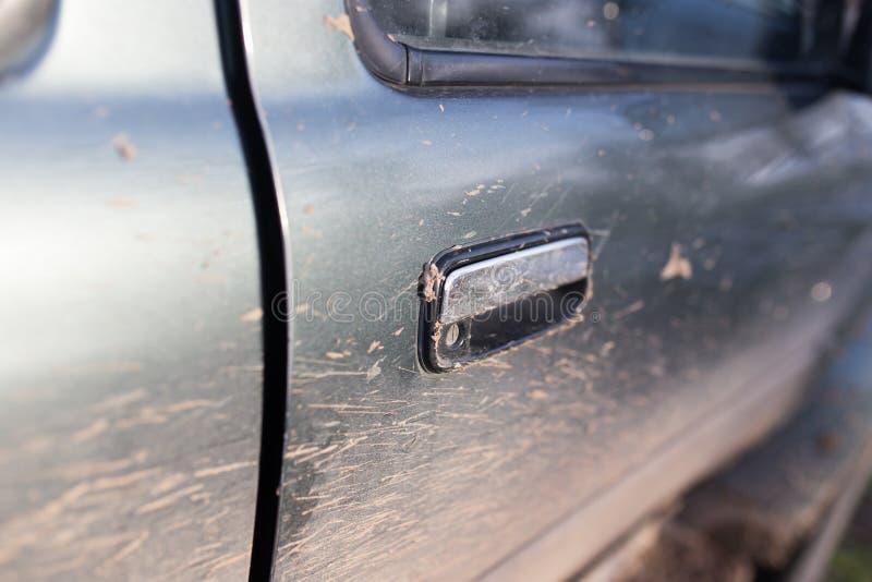 Brud na samochodach SUV zdjęcie stock