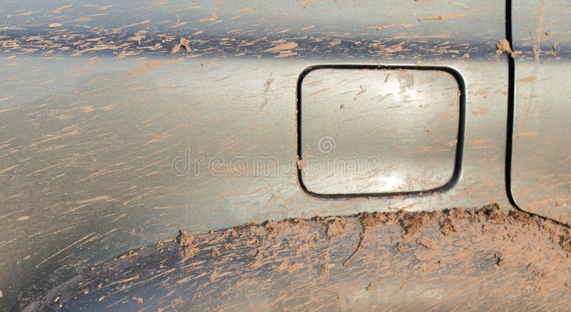 Brud na samochodach SUV obraz royalty free