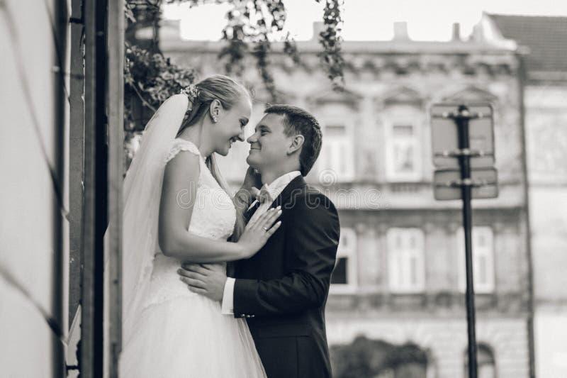 Brud och brudgum för bröllopet royaltyfri fotografi