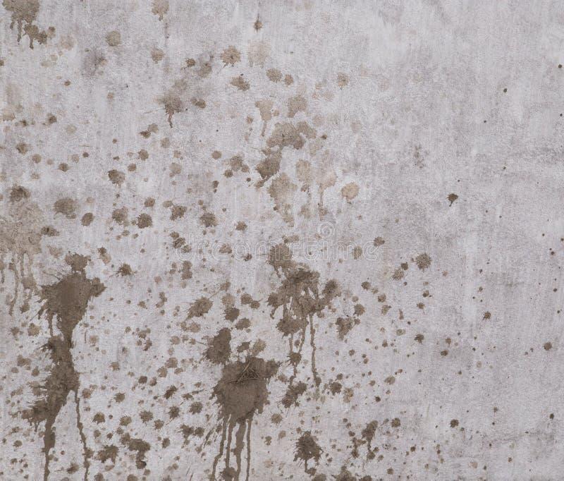 Brud plamy na ścianie ilustracji