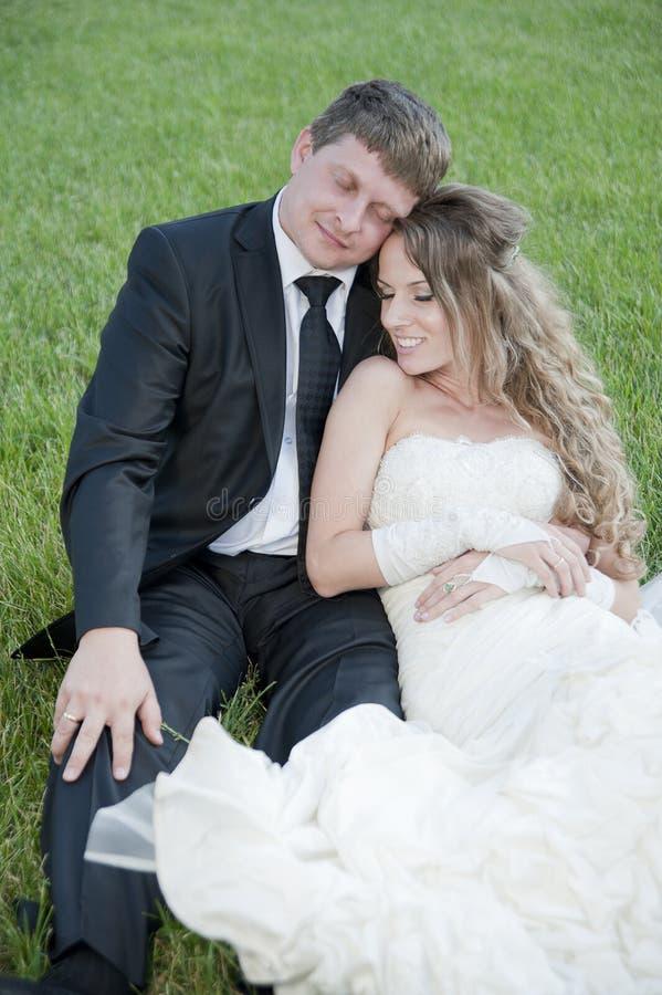 brudbrudgum royaltyfri fotografi
