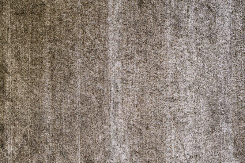 Brudna brązu bielu ściany tekstura z narysem zdjęcie royalty free