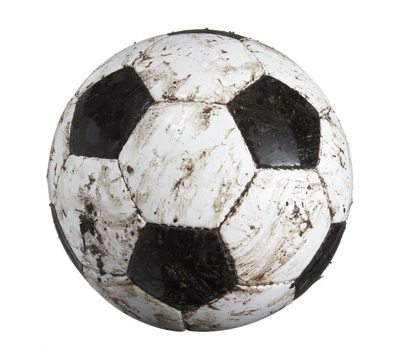 brudna piłki piłka nożna zdjęcia stock