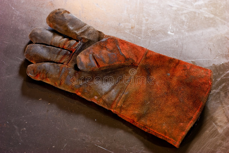 brudna rękawica obrazy royalty free