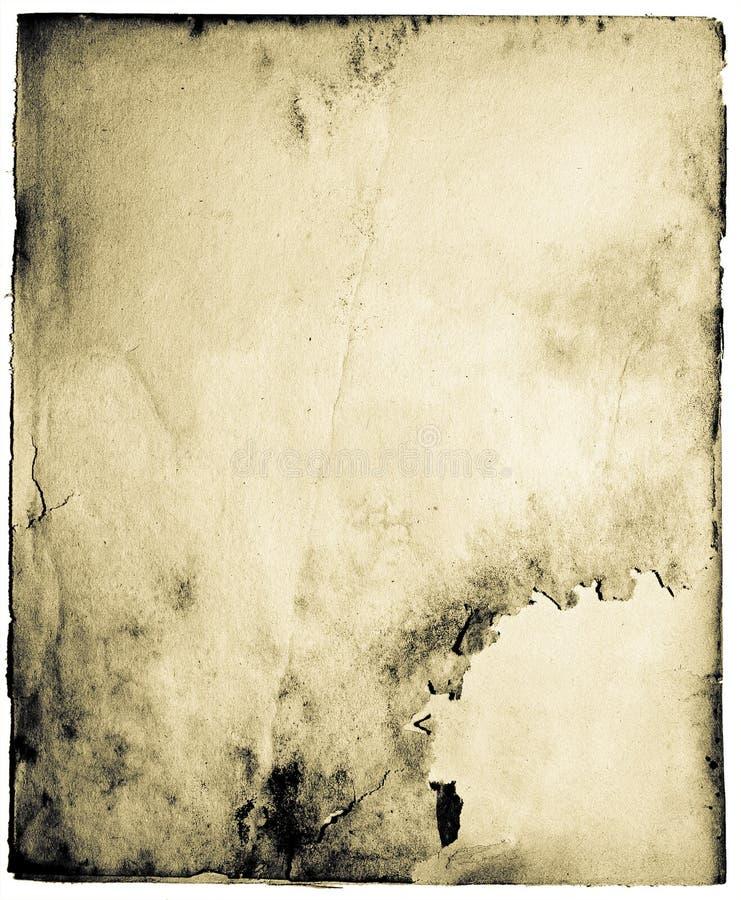 brudna stara strona zdjęcie stock