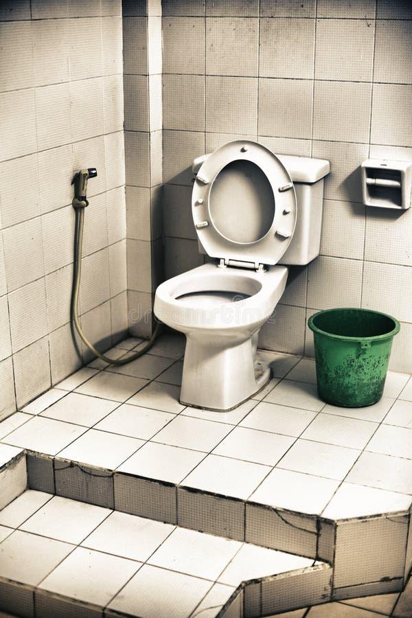 brudna toaleta fotografia royalty free