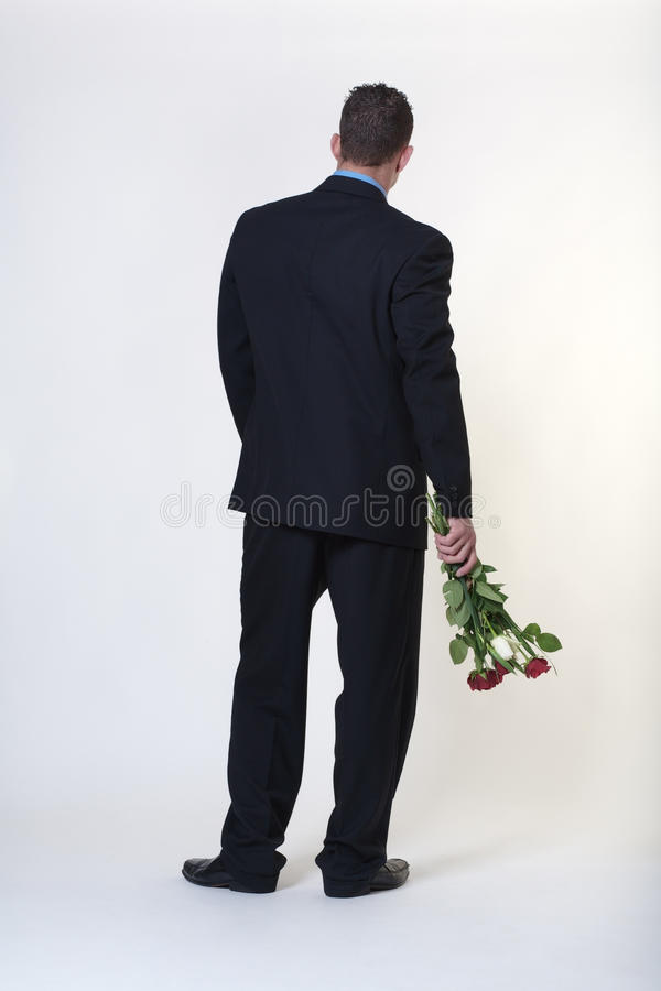 Brudni przegnili kwiaty obraz stock