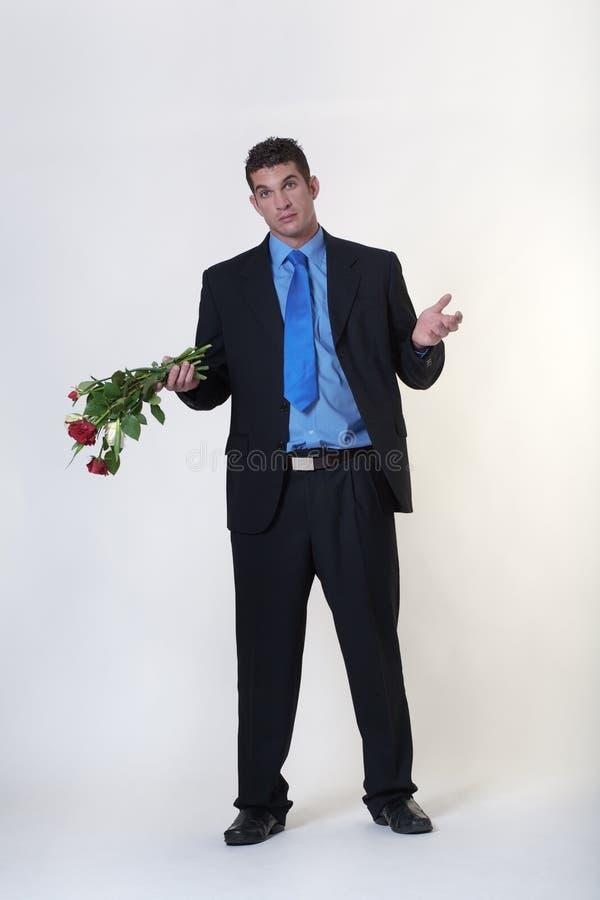 Brudni przegnili kwiaty zdjęcie stock