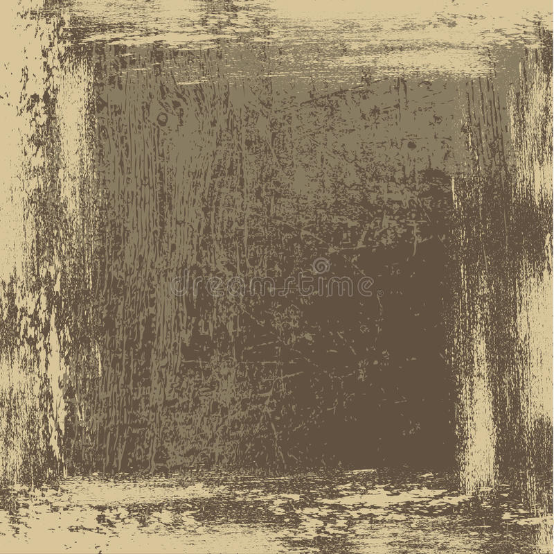Brudno- beżowy grunge tło ilustracja wektor