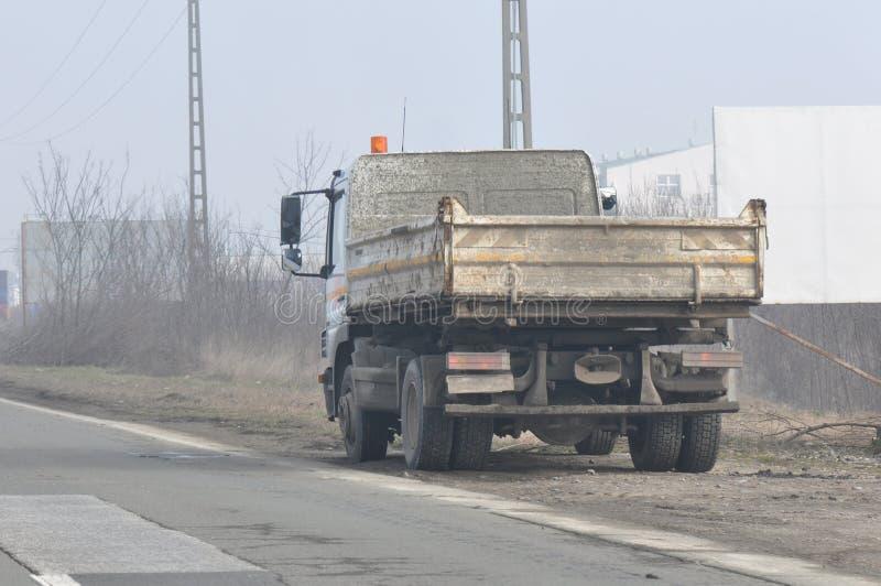 brudny ciężarówkę obraz stock