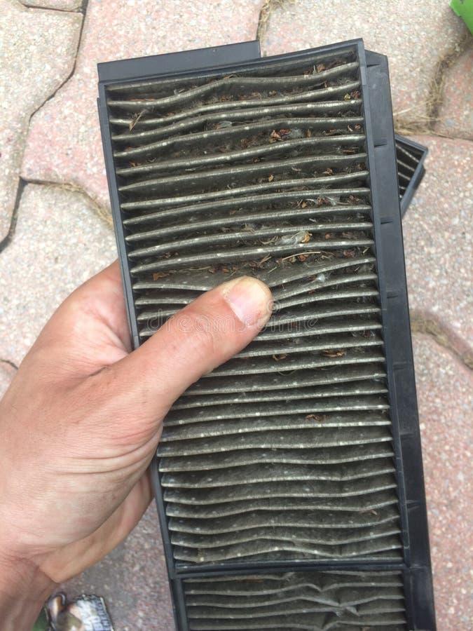brudny powietrze filtr zdjęcia royalty free
