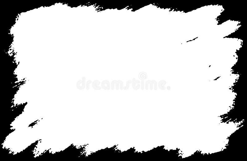brudny ramę ilustracji