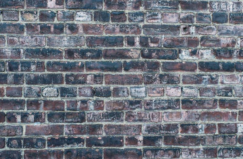 Brudny stary grunge ściana z cegieł obrazy stock