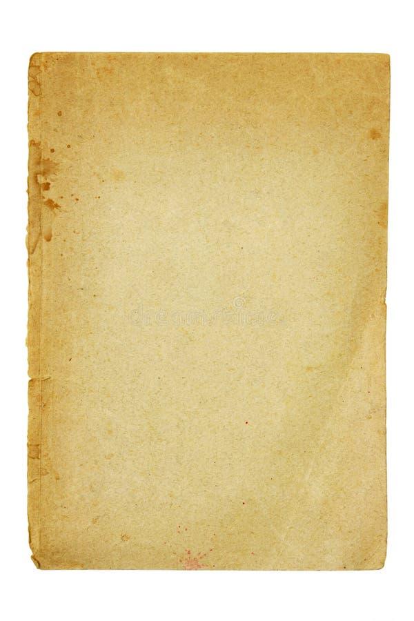 brudny stary kawałek papieru obraz royalty free