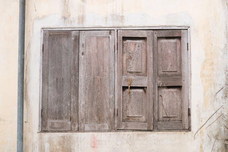 brudny stary okno obrazy stock