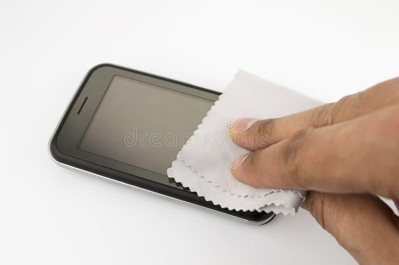 Brudny telefon komórkowy zdjęcie royalty free