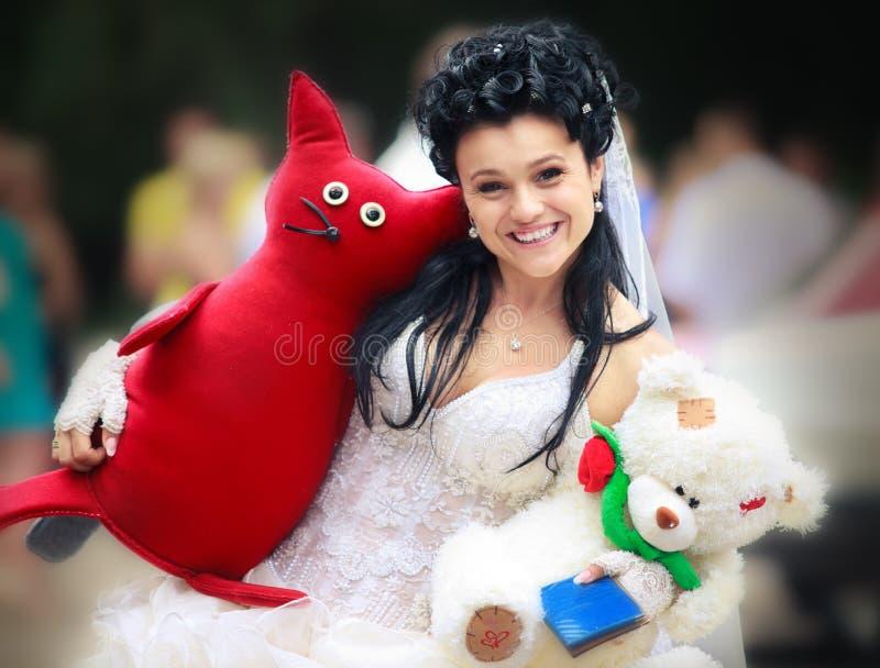brudtoys royaltyfri fotografi