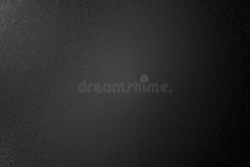 Brudzę szczotkował czarną metal ścianę w ciemnym pokoju, abstrakcjonistyczny tekstury tło ilustracja wektor