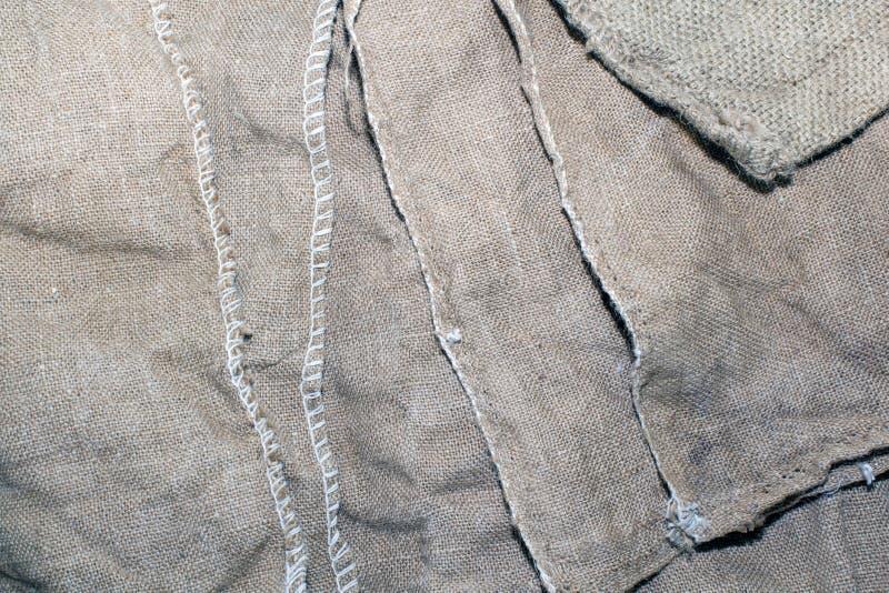 brudzi starą gruli worka teksturę obraz royalty free