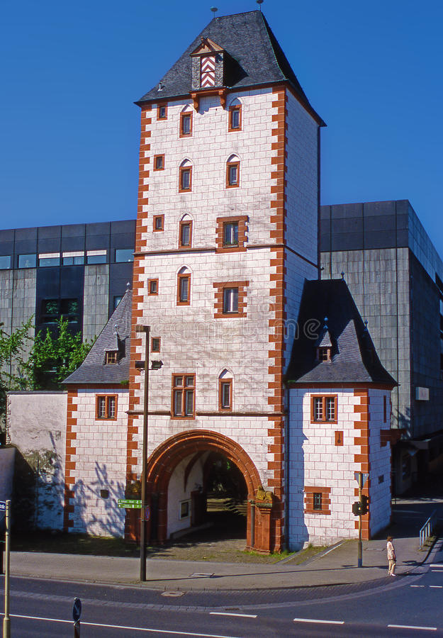 Brueckenturm royalty-vrije stock afbeeldingen