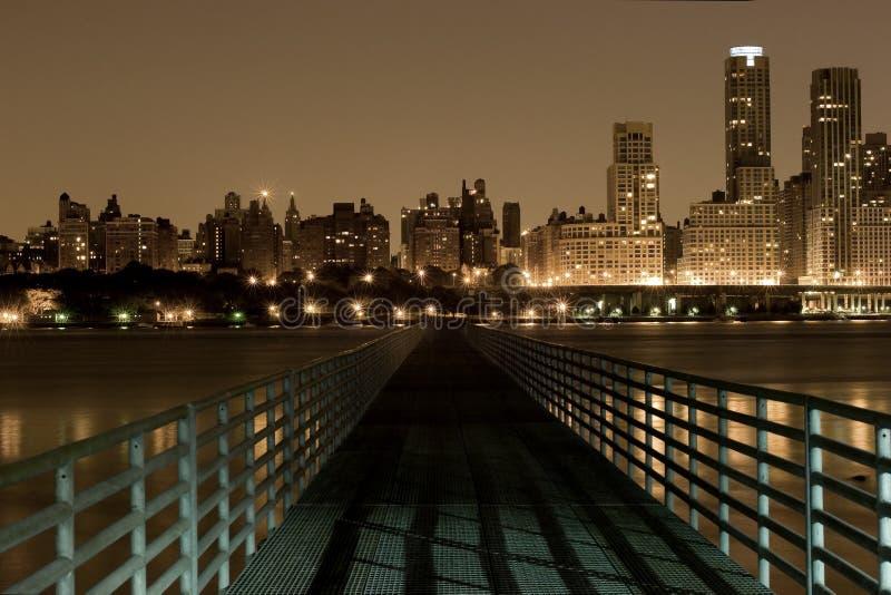 Brug aan Manhattan stock afbeeldingen