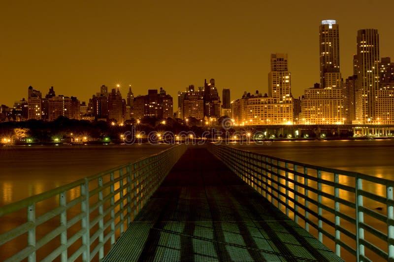 Brug aan Manhattan royalty-vrije stock foto