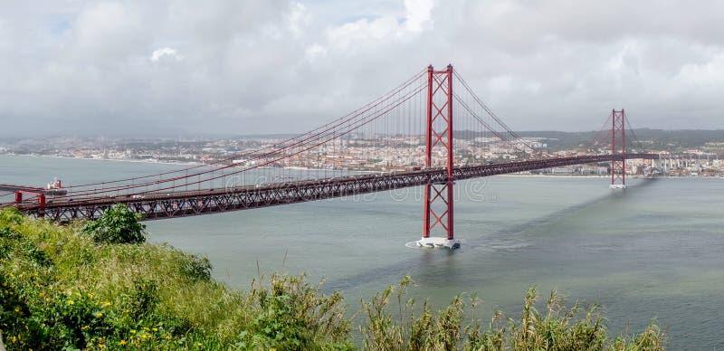 Brug in Lissabon royalty-vrije stock foto's