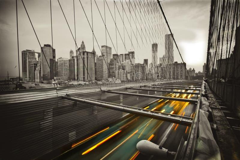 Brug in New York royalty-vrije stock afbeelding