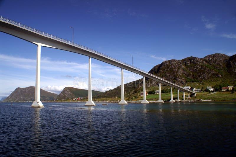Brug in Noorwegen royalty-vrije stock foto's