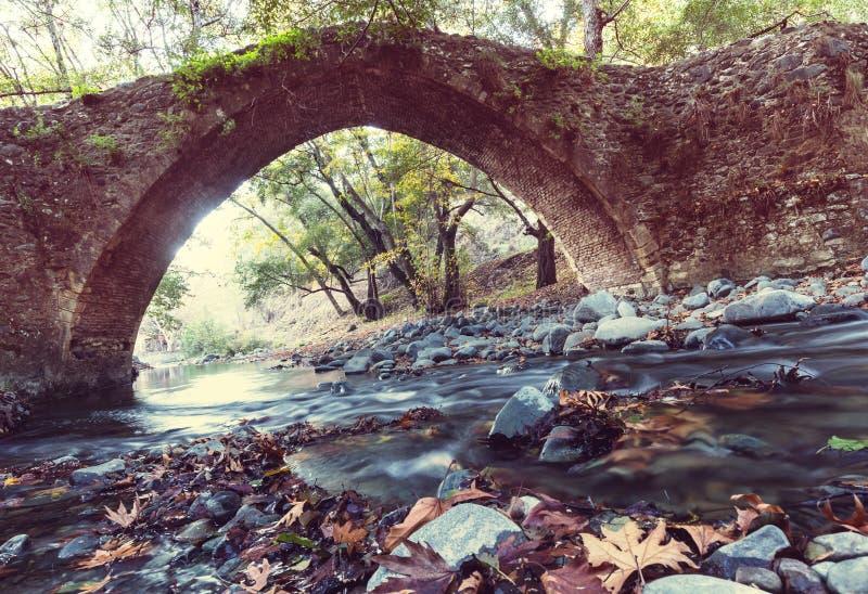 Brug op Cyprus royalty-vrije stock foto