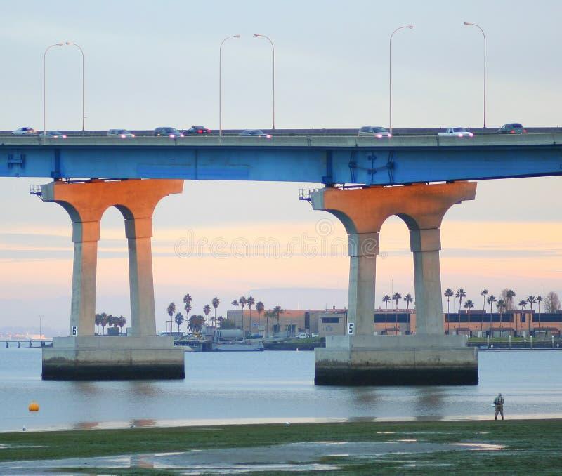Brug San Diego - Coronado royalty-vrije stock foto