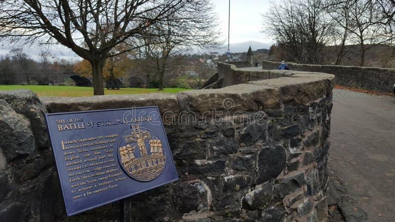 Brug van Stirling stock foto's
