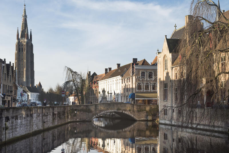 Bruges arkivfoto