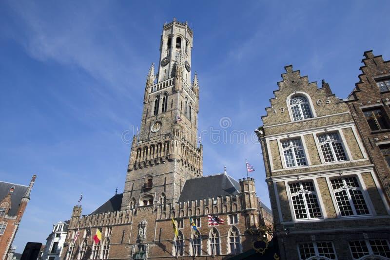 Bruges Belfort photographie stock libre de droits