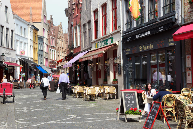 Bruges Belgia fotografia royalty free