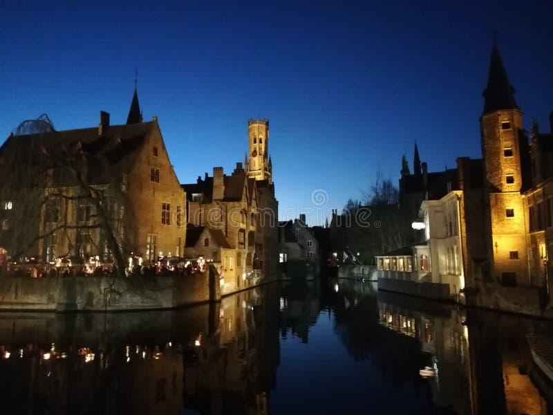 Bruges Belgien arkivbilder