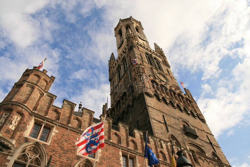 Bruges, Belgio. immagine stock libera da diritti