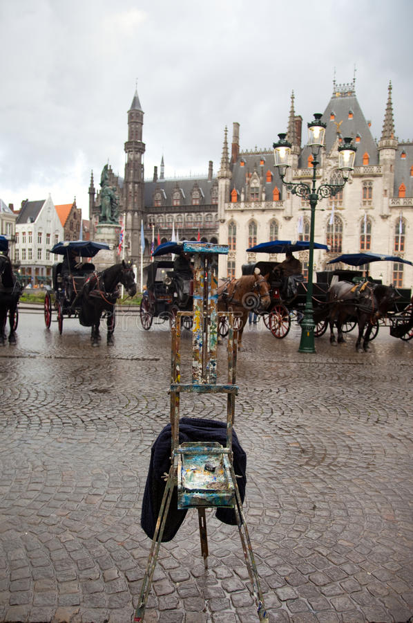 Bruges, Belgio fotografie stock