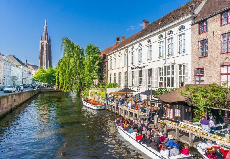 Bruges, Belgique image stock