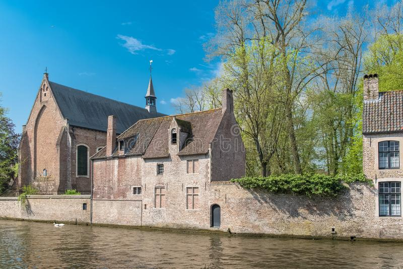 Bruges in Belgium royalty free stock image