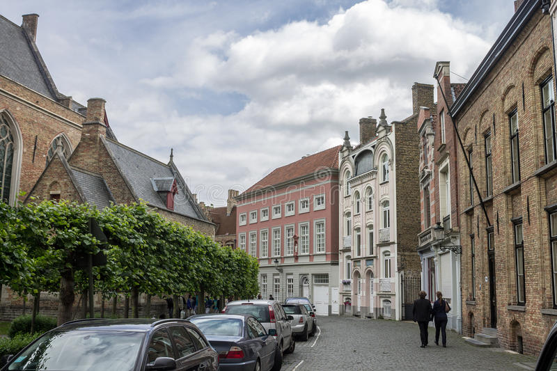 Download Bruges Belgium editorial image. Image of cars, trees - 39500105