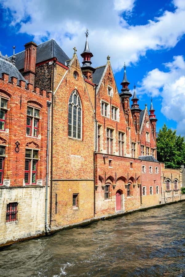 Bruges Brugge, Belgien arkivfoton
