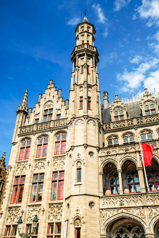 Bruges, Brugge, Flanders in Belgium stock image