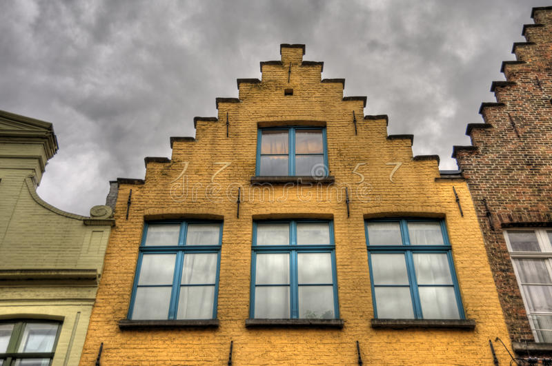 Download Bruges stock photo. Image of house, hanseatic, cloudy - 35002136