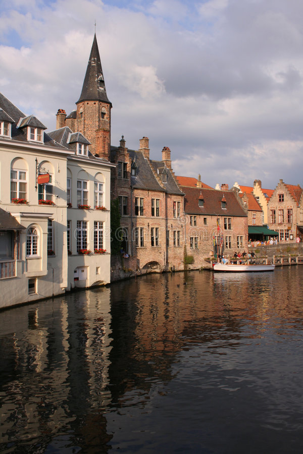Download Bruges Canal View Stock Images - Image: 969614