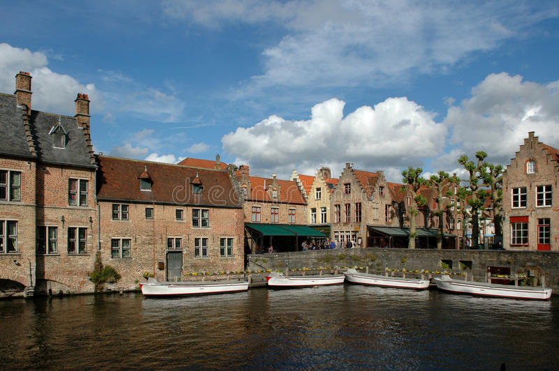 Bruges Canals Belgium Royalty Free Stock Images